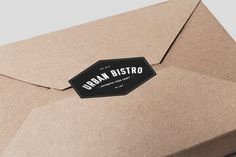 Urban Bistro is a contemporary restaurant that specialises in quick, fresh and simple ready meals. The restaurant branding was created by a gr Fire Pit Furniture, Furniture Logo, Diy Furniture Plans, Design Furniture, Ikea Furniture, Furniture Stores, Restaurant Names, Restaurant Branding, Label Design