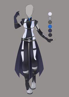 :: June Commission 03: Outfit Design :: by VioletKy.deviantart.com on @DeviantArt
