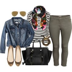 """Everyday - Plus Size"" by alexawebb on Polyvore"