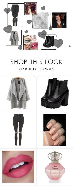 """Untitled #16"" by neens-4ever ❤ liked on Polyvore featuring beauty, Topshop and Retrò"