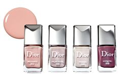 "Global editors celebrate the beautifully bright DIOR Dior Vernis nail polish's rainbow of ""classic and nonconformist shades.""   - ELLE.com"