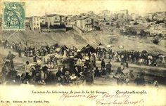 """Το τραγούδι """"Καροτσέρη""""  μνημονεύει την ελληνική γειτονιά Istanbul, Ottoman Empire, Once Upon A Time, Old Photos, Paris Skyline, City Photo, Vintage World Maps, Europe, Black And White"""