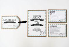 Destination Wedding Invitation range sarahcoll.com
