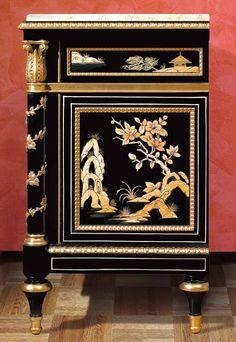 China night table Louis XV