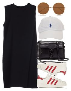 """""""Untitled #4581"""" by style-by-rachel ❤ liked on Polyvore featuring Alexander Wang, adidas Originals, Illesteva and Rebecca Minkoff"""