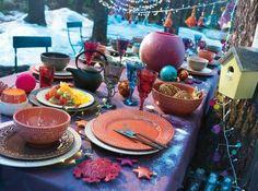 Color table bohême