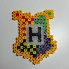 Hogwarts - Harry Potter perler beads by jmgeekcraft