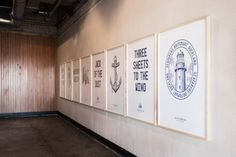 Logo, print, signage, stationery and packaging with a maritime sensibility designed by Inhouse for Seafarers and Ostro. Opinion by Richard Baird
