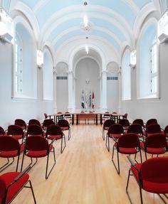 Historic Convent Transformed Into Spectacular City Hall In Quebec Canada - http://interior-design.info/historic-convent-transformed-into-spectacular-city-hall-in-quebec-canada/