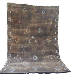 Sayward Moroccan Sabra Silk Pillow Atlas Mountains