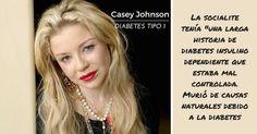 Casey Johnson - Diabetes Tipo 1