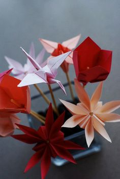 I want to learn some origami