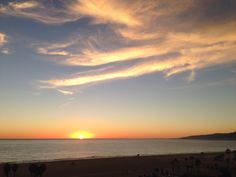 #SantaMonica #Sunset   - 11/13/13