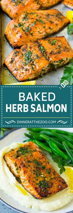 Salmon is very easy to make. A great deal of people get scared to cook it however the fact is, there isn't much quicker food, that tastes tasty around. The trick is getting the right Salmon. You want wild salmon purchased from an excellent market. Baked Salmon Recipes, Fish Recipes, Seafood Recipes, Roast Salmon Recipe, Salmon Fish Recipe, Potato Recipes, Tasty Meal, Healthy Dinner Recipes, Gastronomia