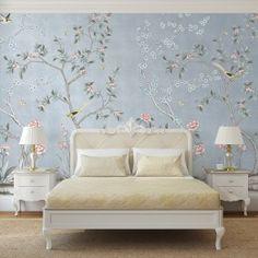 GARDEN Temporary wallpaper from $12 per square foot