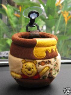Winnie The Pooh Car Accessory Utility Case Honey Jar | eBay