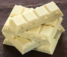 Amo um chocolate que não é chocolate... é chocolate branco