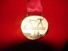 Złoty medal Mistrzostwa Świata Petersburg 2007 - Drużynowo - Floret Kobiet - Polska / Trener Tadeusz Pagiński