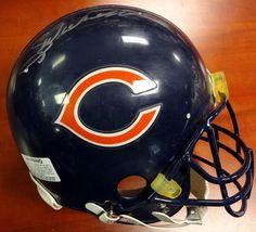 Walter Payton Autographed Chicago Bears Authentic Helmet Sweetness PSA/DNA