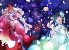 Inuyasha y kagomee 😍 Amor Inuyasha, Inuyasha Funny, Inuyasha Fan Art, Inuyasha And Sesshomaru, Kagome And Inuyasha, Kirara, Miroku, Kagome Higurashi, Fanarts Anime