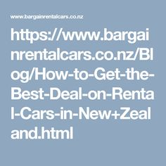 How to Get the Best Deal on Rental Cars in New Zealand - Rental Car Company in Auckland, Wellington and Christchurch. Book online now or 0800 001122 American Animals, Car Rental, Decorative Accessories, Wall Murals, New Zealand, Entrance, Deer, Buddha, Blog