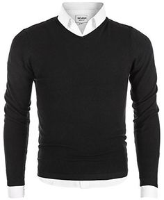 Product review for MiCotton Men's V-Neck Long Sleeve Regular Fit Pullover Cotton Casual Sweater.  PLEASE KINDLY NOTE: Men's Casual Regular Fit Pullover V Neck Sweater Cotton Knitwear Style: Long Sleeve, Knitwear, V Neck, Solid Color, Regular Fit / Slim Fit. Season: Spring / Summer / Fall / Winter Buyers are welcome to leave honest and unbiased review to real MiCotton products. It Is All...