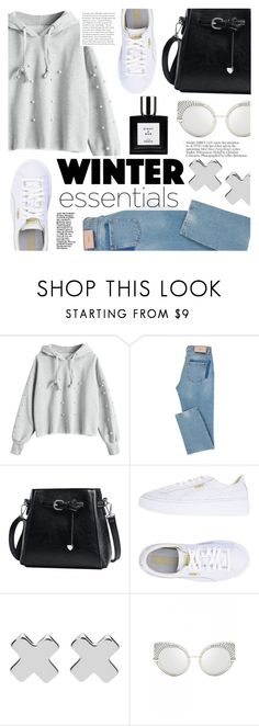 """""""Winter Essentials"""" by tasnime-ben ❤ liked on Polyvore featuring Puma and Witchery"""