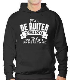 Als je het geluk hebt dat je de Ruiter heet, dan is dit unieke customized t-shirt iets voor jou!  <br><b>Bestel deze vandaag voor maar €17,95!<br><br></b>  Wees trots op jouw naam en laat dit zien aan de wereld! Verkrijg dit Limited Edition T-shirt vandaag! Het is ook het perfecte cadeau om te geven aan jouw DE RUITERvrienden!<br><br>  Voorraad is beperkt en tijdelijk beschikbaar, dus bestel die van jou vandaag.<br><br><i>Bestel er 2 en BESPAAR op verzendkosten.</i>