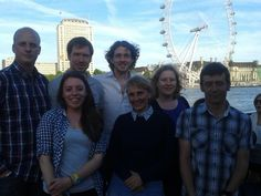 The Pinch of Salt team ready for the start of Royal Society Summer Science week - 2-7 July in London