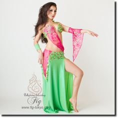 Sahar Okasha オリエンタル衣装 20so10_03_grpk | ★オリエンタル衣装【Sahar Okasha】 | | ベリーダンス衣装・通販 Fig