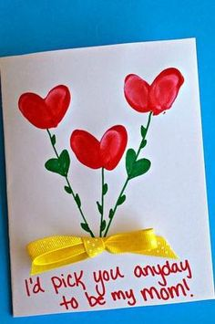 DIY Happy Mothers Day Greeting Card