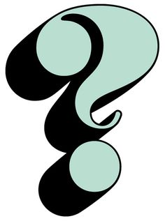 "Benguiat Caslon question mark, FROM: PHOTOLETTERING.COM VIA: MAIA.  From a blog called ""We Love Typography"", should be a goldmine for anyone interested."