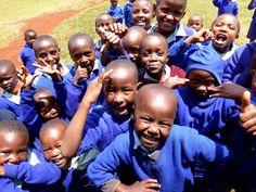healthy school children are always the happiest :)