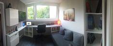 Furniture, Home, Ikea Hack, Kallax Ikea, Corner Desk, Ikea, Office Desk, Home Diy, Desk