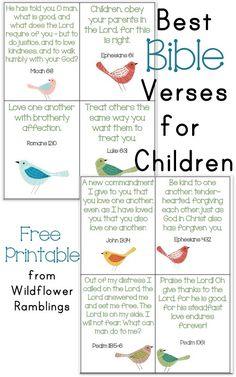 10 Best Bible Verses