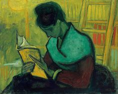Van Gogh   The novel reader