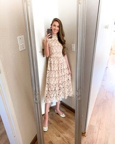Pink Midi Dress, Lace Dress, Perfect Pink, Home Outfit, Pink Lace, Classy Outfits, Summer Looks, Passion For Fashion, Lounge Wear