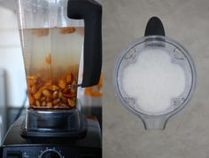Making Homemade Almond Milk