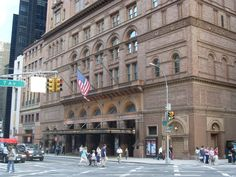 BirdMaster's humane bird control systems protect Carnegie Hall in Manhattan, NY from pest bird infestation.