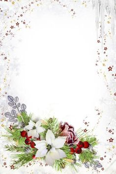 Christmas Border, Christmas Frames, Christmas Background, Christmas Paper, Boarders And Frames, Illustration Noel, Christmas Stationery, Borders For Paper, Floral Border