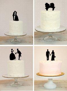 Cute wedding topper (bottom right)