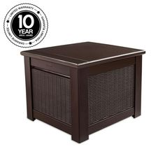 Rubbermaid 56 Gal. Bridgeport Resin Storage Cube Deck Box-1875232 - The Home Depot