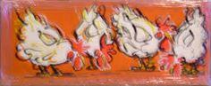 kippen schilderen - Google zoeken