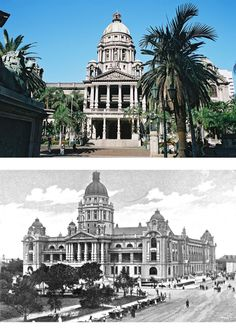 Completed in 1910, the Durban city hall displays a fine example of Edwardian Neo-baroque architecture. The current city hall is actually the second building in Durban made for this purpose, as the first city hall was taken over by the post office. During the late 1880's Durban started expanding at a rapid rate, and it was decided that the city needed a much larger town hall. In 1903 the town council announced that they would be accepting new design submissions for city hall. The chosen…