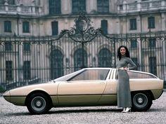 Citroën GS Camargue Concept by Bertone 1972.