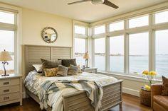 coastal bedroom | Caleb Johnson Architects + Builders