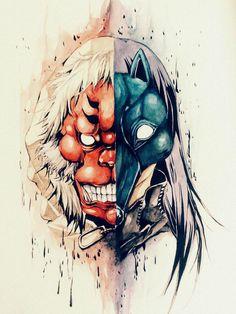 Devil ape and black dog / Tokyo Ghoul