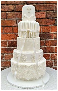 Gown Inspired Cake  by Bobbie-Anne Wright (For Heaven's Cake)