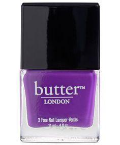 Purple/Violet nail polish - totally gorgeous and fun! www.peachyclean.com.au
