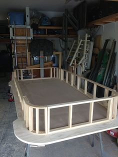 Tinygiant Workshop | Homemade Craps Table Casino Night Food, Garage Shelving, Garage Ideas, Table Plans, Ping Pong Table, Round Corner, Mudroom, Frames On Wall, Project Ideas